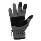 wind tour warme wind-proof aanraking met lange vingers handschoenen - grijs (l / pair)