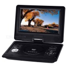 "Kubite Portable 10.1"" TFT 270' Rotating DVD Player - Black"