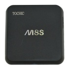 TOCHIC M8S TV Box 2GB/8GB Dual Band Wi-Fi Android 4.4 4K Full HD Smart TV Media Player - Black