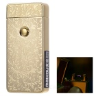 MAIKOU MK-001 Dolphin Style USB Rechargeable Windproof Electric Arc Pulse Cigarette Lighter - Golden