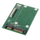 CE/ ZIF to SATA Hard Disk Adapter Card w/ Flat Cable - Green