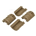 Rail Covers Protectors Handguards Set for Gun - Sand Color (12PCS)