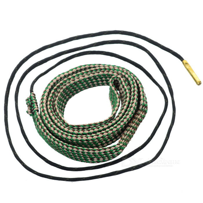 Gun Barrel Bore Snake Cleaning Rope Cleaner for 30/308 Cal - Green