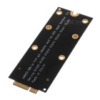 MSATA SSD to 7+17Pin Adapter Card for A1425, A1398 + More - Black