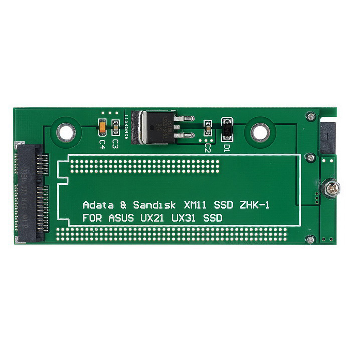 ADATA SSD Solid State Disk Adapter Card for ASUS UX31 + More - Green