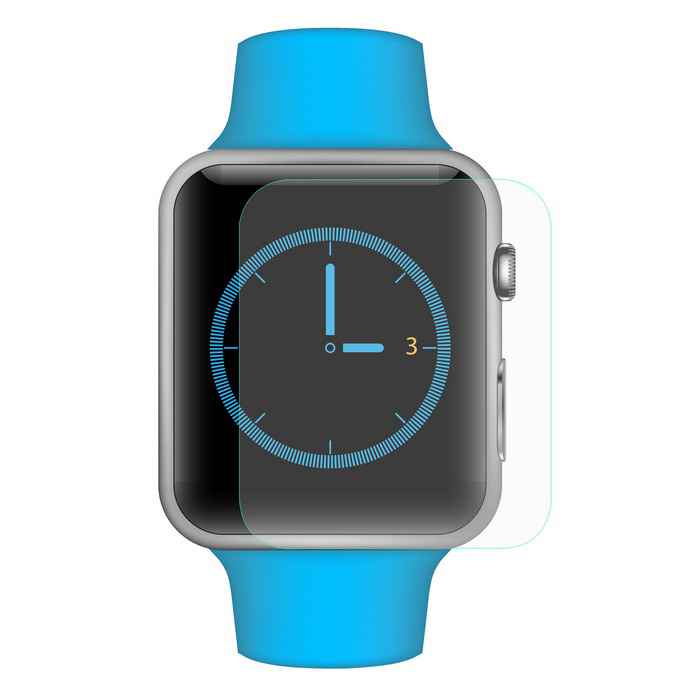Hat-Prince 9H Tempered Glass Screen Protector for Apple Watch 38mm
