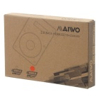 "MAIWO K104 USB Enclosure for 2.5"" SATA Laptop HDD - Transparent White"