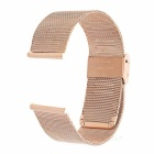 Replacement Stainless Steel Watch Band Watchband for Motorola MOTO 360 2 46mm - Rose Gold
