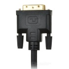 HDMI to DVI 24+1Pin Cable w/ 2 Magnetic Rings - Black (1.5m)