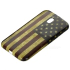 US Flag Pattern Back Case Cover for Motorola Moto G3 - Multicolored