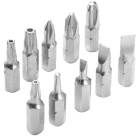 10-in-1 Hex Socket + T-type Screwdriver Chrome Vanadium Steel Tool