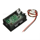 Red Light Electric Quantity Display w/ Alarm for 12V Lead-Acid Battery
