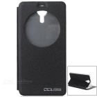 OCUBE Protective Flip-Open PU Full Body Case Cover for Ulefone Be-touch / Be-touch 2 - Black