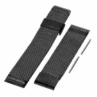 Stainless Steel Watch Band for Motorola MOTO 360 2 46mm - Black
