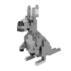 WLTOYS 6611 Kangaroo Building Blocks Educational Toy for Children / Kids - Grey