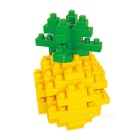 WLTOYS 6601 Pineapple Building Blocks Educational Toy for Children / Kids - Yellow + Green