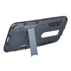 Protective Back Case w/ Stand for Motorola MOTO X Style - Black