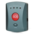 ERAY GS-EG Wireless Emergency GSM Call Alarm System w/ SOS Panic Button - Dark Grey + Red