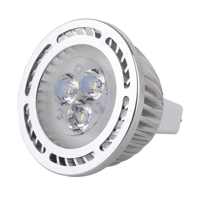 MR16 3W LED Spotlight Bulb Lamp Cold White Light 300lm 3-SMD 3030