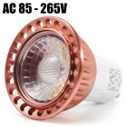 GU10 9W 810lm COB 3000K Warm White LED Spot Light (AC 85-265V )