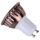 GU10 9W 810lm COB Cold White LED Spot Light - Taupe (AC 85~265V )
