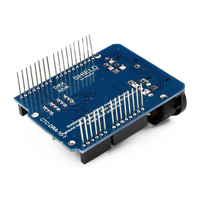 Dmx shield for arduino blue free shipping dealextreme