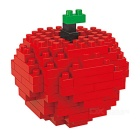 WLTOYS 6603 Apple Building Blocks Educational Toy for Children / Kids - Red + Multicolored