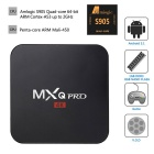 MXQ PRO quad core android H.265 hardware de decodificación inteligente reproductor de TV