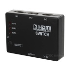 3-Port 1080p video HDMI switcher w / IR fjärrkontroll för HDTV PS3 DVD