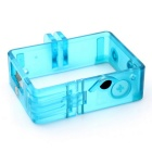 Plastic Frame Case w/ Installation Arm for GoPro 4 / 3+ / 3 - Blue
