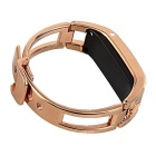 D8 Bluetooth Smart Watch para iOS Android Phones - Gold + Black