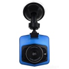 "170 Degree Wide Angle 1/2.5 Inch CMOS 2.31"" TFT Car DVR w/ Microphone / Loop Record - Blue"