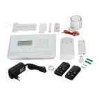 Eray GS-M2E Auto Dial Touch Pannel Anti-theft GSM Alarm System - White