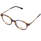 OUPENG Retro Round Super Light B Titanium + TR90 Frame PC Lenses Plain Glasses Spectacles