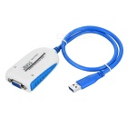 CY USB 3.0 to VGA RGB Video External Graphics Card HDTV Adapter Cable for Macbook Laptop Monitor