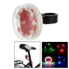 RGB 9-LED Bicycle Safety Warning Tail Lamp