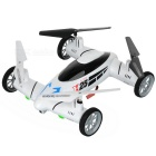 2.4GHz 4-CH Fly and Drive Air-Ground Remote Control Quadcopter Drone / Flying Car - Black and White - R/C Airplanes and Quadcopters Hobbies and Toys
