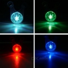 CTSmart Cycling High Light 3-Mode Multi-color Bike Light - Transparent