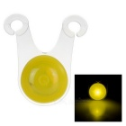 CTSmart Outdoor Cycling High Light 3-Mode Yellow Light Bike Warning Light (1 x CR2032)