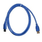 USB 3.0 SuperSpeed Male to USB 3.0 Male Data Cable (150CM-Length)