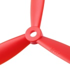 3-Blade 6045 Propeller Props For 250mm Quadcopter - Red (4Pairs)