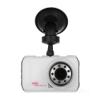 "F002 3.0"" TFT HD CMOS 170' Wide-Angle 12MP Car DVR Camera w/ 9 LEDs / IR Night Vision / G-Sensor"