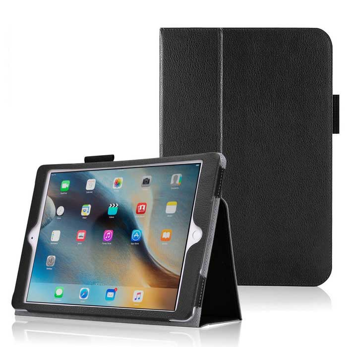 "Protective PU Leather Case w/ Stand for IPAD Pro 12.9"" - Black"