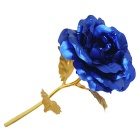 Valentine's Day Gift Dipped in 24K Blue Lover's Rose - Blue