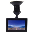 "FH03 1080P 3"" LTPS 170' CMOS Car DVR Recorder Parking Guard - Black"
