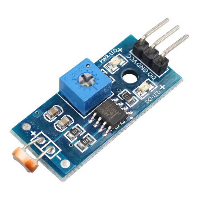 Digital light intensity sensor module photo resistor