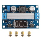 Buy Digital Voltmeter Boost DC-DC 100W Power Supply Adjustable 3.5 ~ 35V