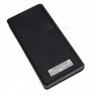 DIY Dual USB 6 Battery Slot Case Cover w/ LED Indicator for 18650 Mobile Power - Black