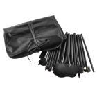 Cosmetic Facial Make up Brush Kit - Black