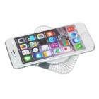 Universal Square 5V / 1.5A Qi Wireless Charger - Transparent + White